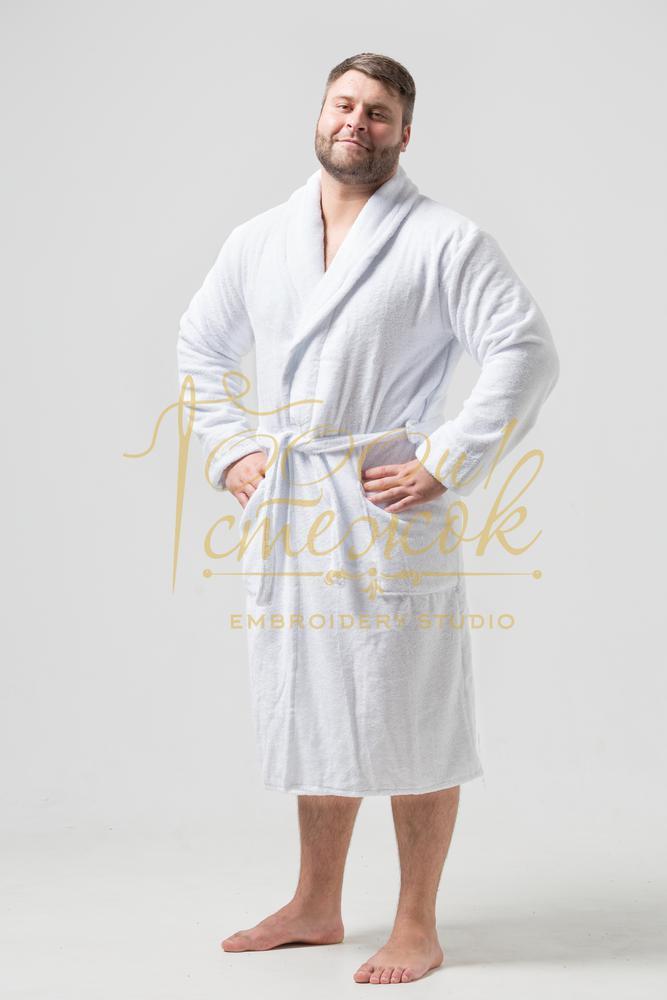 Мужской халат без капюшона категории